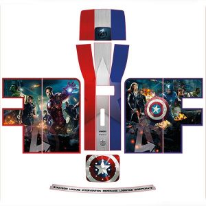 Avengers Perfect Draft Vinyl Skin / Wrap